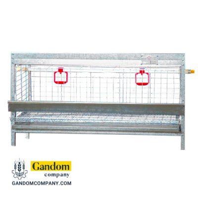 قفس کبک یک طبقه